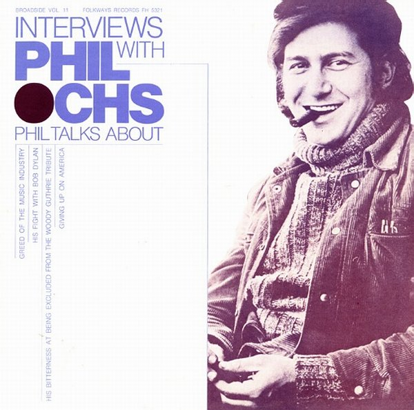 Cover Interviews With Phil Ochs