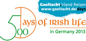 500 Days of Irish Life in Germany 2013. Hier alle Künstler, alle Termine.